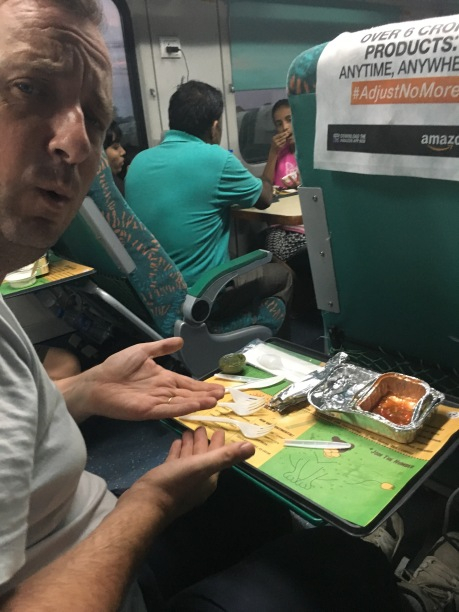 But train food is getting better. It could even be better than airline food (courtesy of the normal operation of tastebuds).