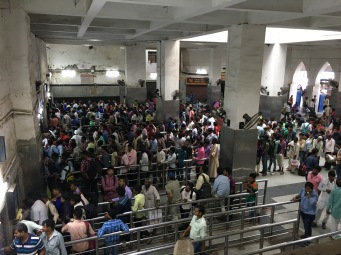 Delhi Railway Station Booking Office queues