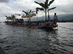 The start of the annual Pogada festival procession